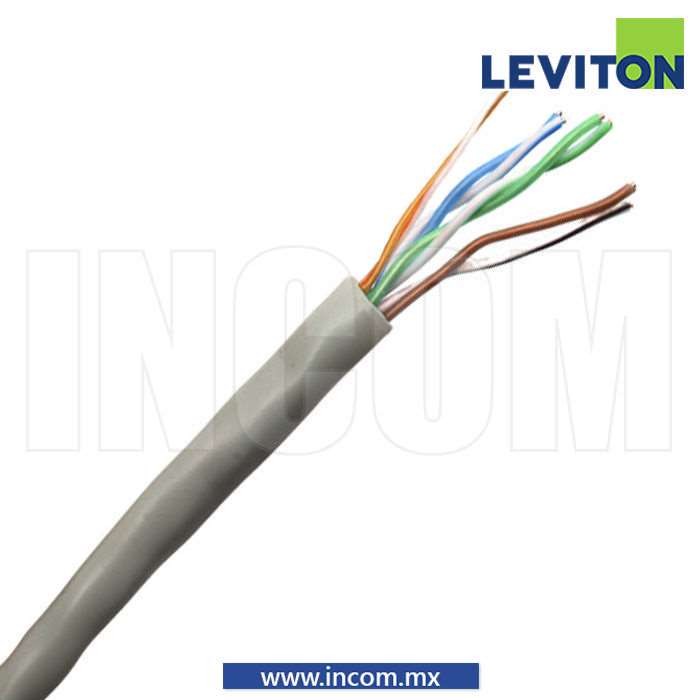 CABLE GIGAMAX UTP CAT 5E CM GRIS
