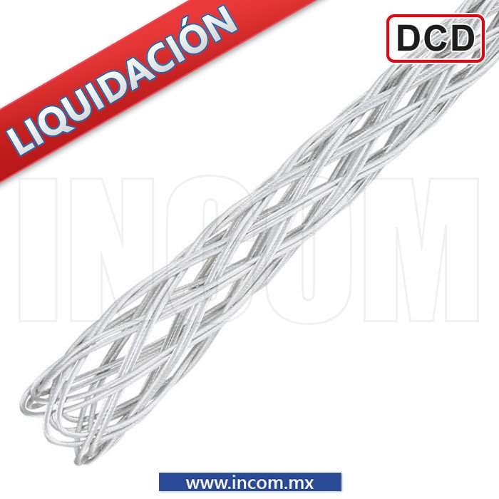 "CALCETIN BORDADO DE 0.63"" A 0.87"", TENSION 9,752KG"