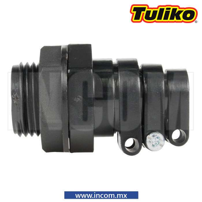 CONECTOR GLANDULA NEGRA PARA CABLE 10-15MM