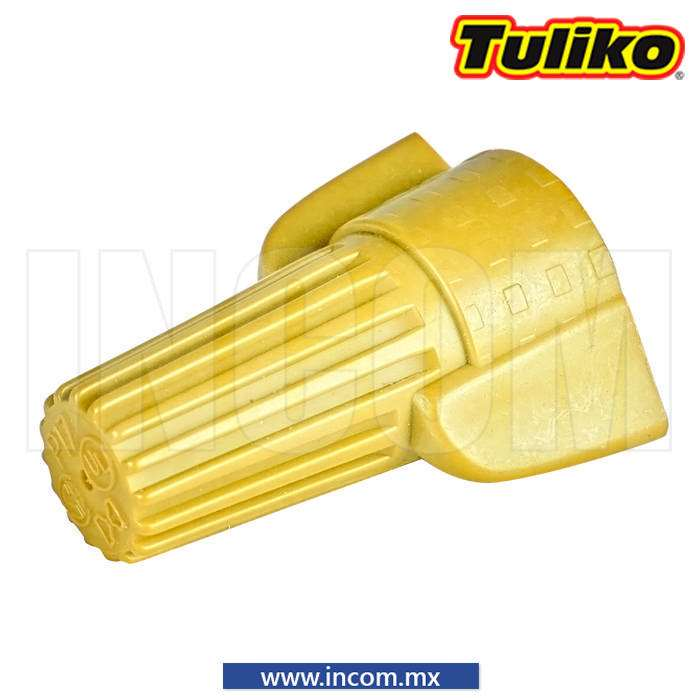 "CONECTOR TWIST ""WIRE NUT"" AMARILLO 3X12/2X18 AWG"