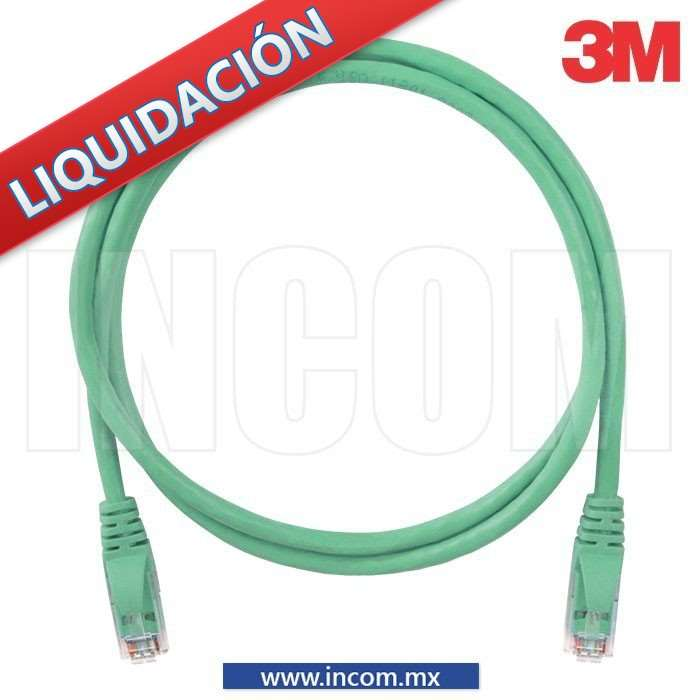 CORDON DE PARCHEO FTP CAT 6 VERDE 2M