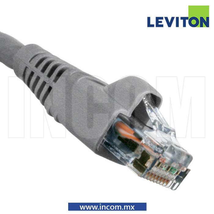 CORDON DE PARCHEO UTP CAT 6 GRIS 20FT