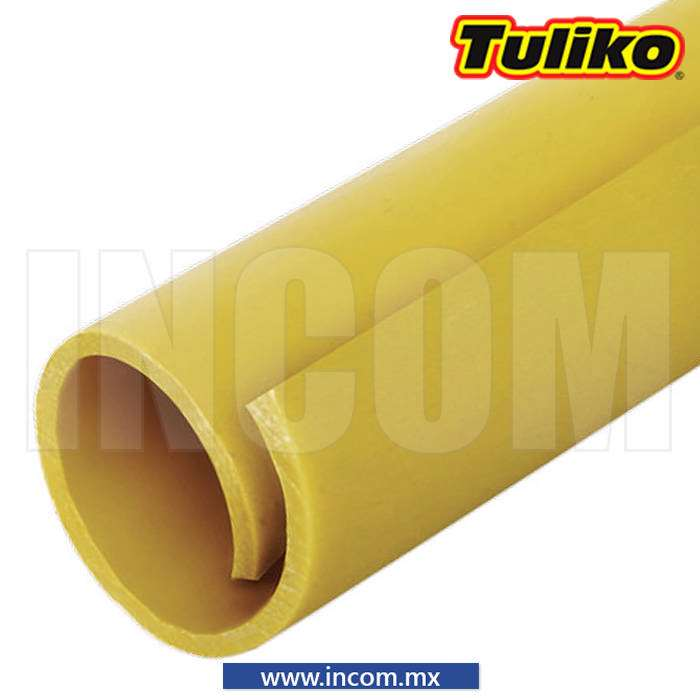 PROTECTOR DE CABLE 26MM X 100MTS AMARILLO (100MTS)