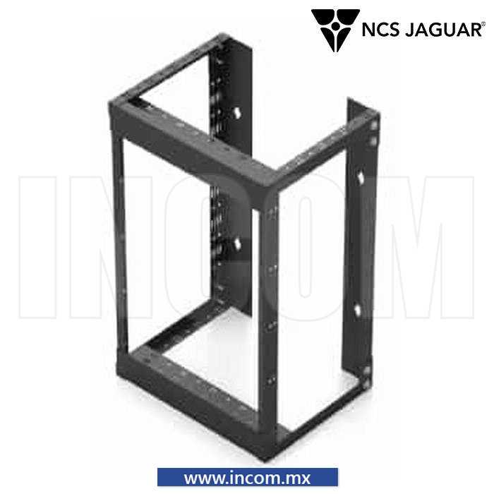 "RACK ABIERTO ABATIBLE 19"" PARA PARED DE 8UR"