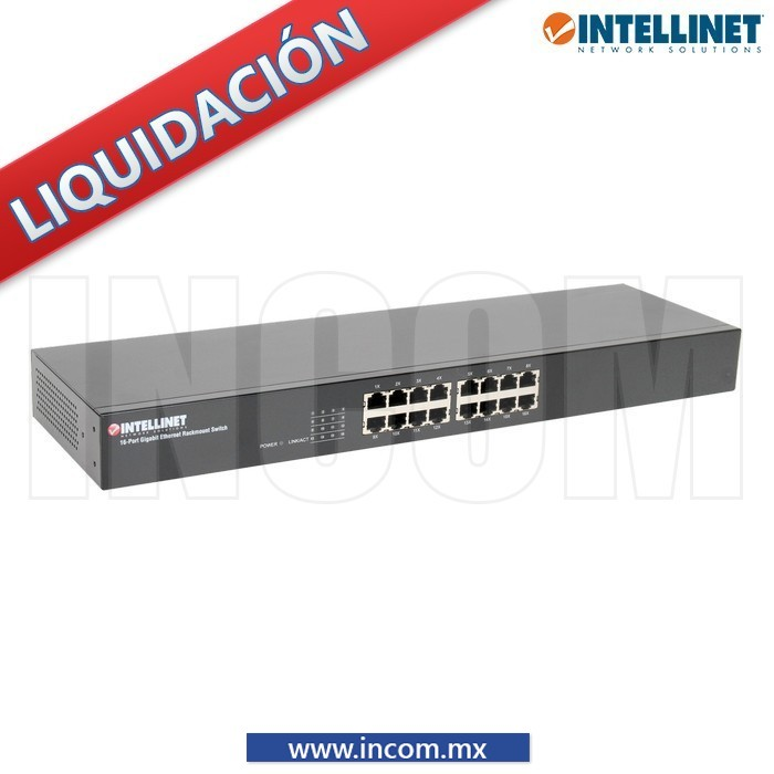 SWITCH GB IEEE 802.3AZ 16 PTS PARA RACK
