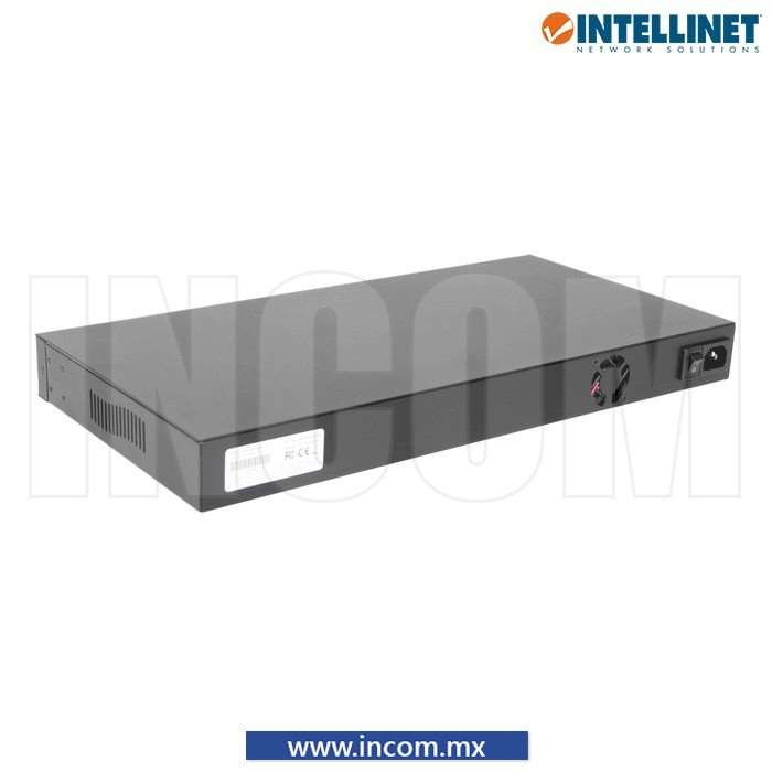 SWITCH POE+/POE 30W 16 PUERTOS PARA RACK