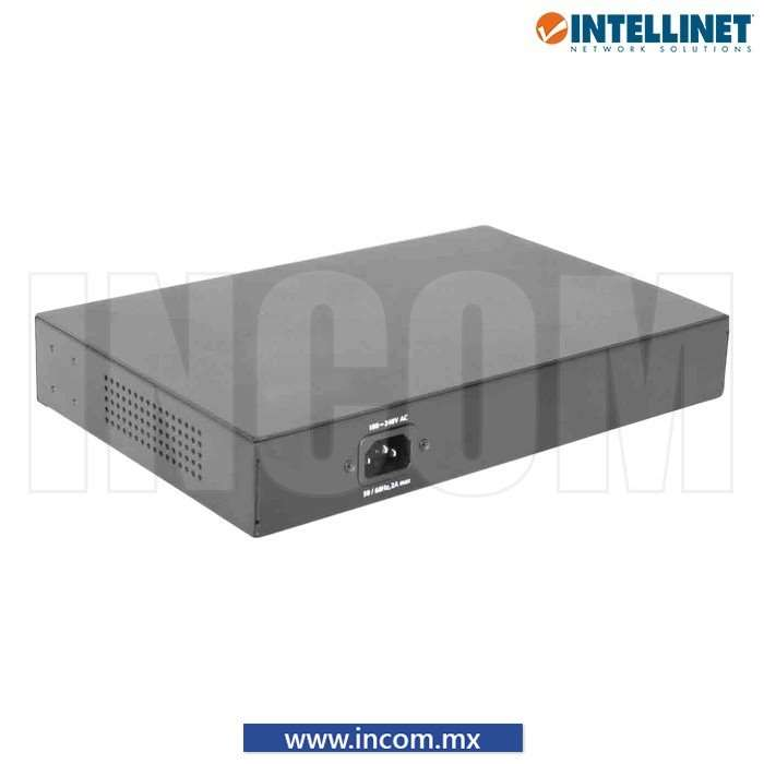 SWITCH POE+/POE GB 30W 8 PUERTOS PARA ESCRITORIO