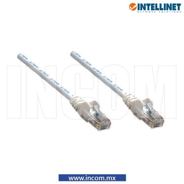 CORDÓN DE PARCHEO UTP CAT 6 BLANCO 5M