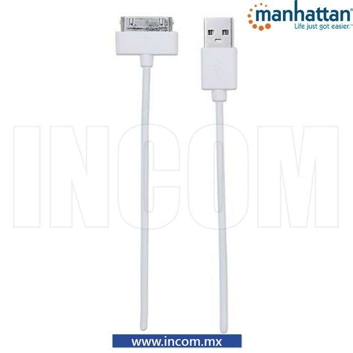 CABLE ILYNK 30 PINES USB A BLANCO 1M