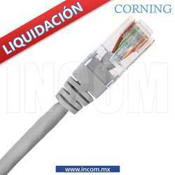 CORDON DE PARCHEO UTP CAT 6 GRIS DE 3MTS