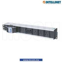 PDU HORIZONTAL 6 CONTACTOS 1.5UR SWITCH