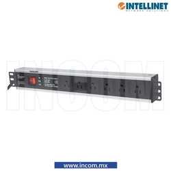 PDU HORIZONTAL 6 CONTACTOS 1.5UR SWITCH/SUPRESOR